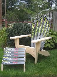 Corona Adirondack Chair Ski Chair Snow Adirondack Chair And Ottoman Wayfair