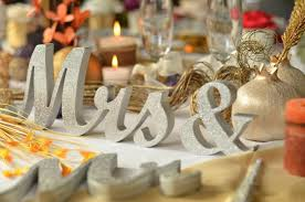 mr mrs wedding table decorations gold mr mrs letters wedding table decoration freestanding gold