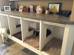 Dog Crate Furniture Bench Best 25 Dog Crate Furniture Ideas On Pinterest Puppy Crate Dog