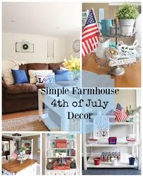simple farmhouse fourth of july decor the belmont ranch