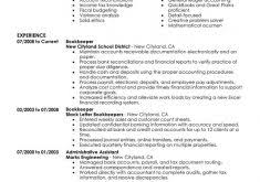 Bookkeeper Resume Samples by Download Editor Resume Haadyaooverbayresort Com