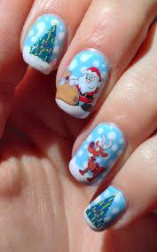 christmas nail art u2013 a sparkling finish