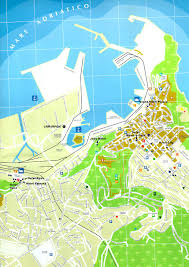 Brindisi Italy Map by Ancona Map