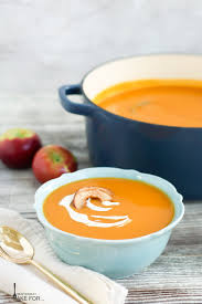 roasted butternut squash and apple soup what should i make for