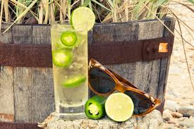 tequila soda with jalapeño drink recipe coveteur
