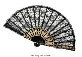 lace fan black lace fan stock photos black lace fan stock images alamy