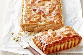 chicken leek and sour cream pie