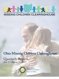2007 q2 missing children u0027s clearinghouse annual report legal