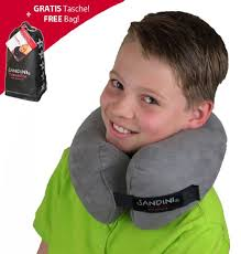 Kids Travel Pillow images Buy sandini travelfix travel pillow ergonomic fit kids size jpg