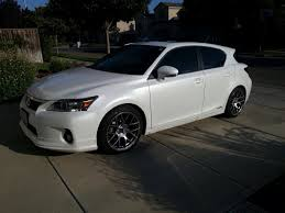 lexus ct200h rims new wheels for my gf teaser