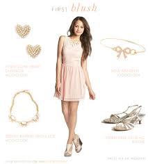 blush junior bridesmaid dresses blush dress for a junior bridesmaid