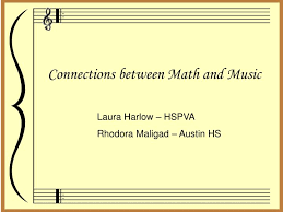 The Relationship between Math and Music   helalinden com The Relationship between Math and Music