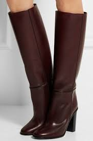 s boots knee high brown brown leather knee high boots