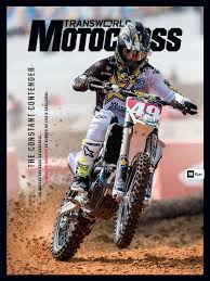 transworld motocross pin up january 2017 transworld motocross