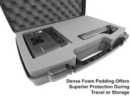 amazon com secure hard body carrying case with dense foam made