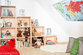 diy crate bookcase maison de pax
