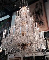 Baccarat Chandelier 110 Inches Fabulous Monumental Baccarat Chandelier Modernism