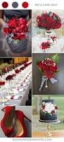 Our Wedding Day Sassy Red by Top 10 Wedding Color Combination Ideas For 2017 Trends Dark Grey