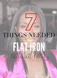 best flat iron sspray for african american hair 7 things you should have to safely flat iron natural hair