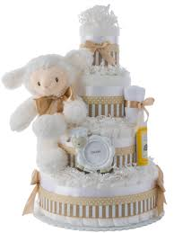 luvable lamb baby shower diaper cakes unique diaper cake gifts