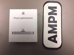 Apple Lighting Dock Apple Iphone Lightning Dock Ml8j2am Original Genuine Official Ebay