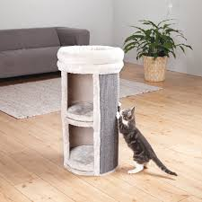 amazon com trixie pet products mexia 2 story cat tower gray