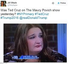 Maury Memes - maury show guest who is a dead ringer for ted cruz starts internet