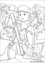 handy manny tools coloring pages handy manny coloring picture coloring and activities pinterest