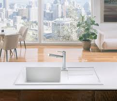 Blanco Kitchen Faucet Parts by Interior Blanco Silgranit Kitchen Sink Bathroom With Black