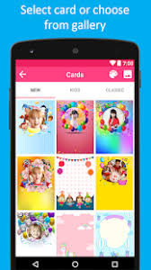 photo card maker birthday card maker android apps on play