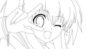 kawaii manga anime coloring pages womanmate com