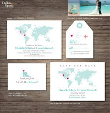 destination wedding invitations destination wedding invitations cloveranddot