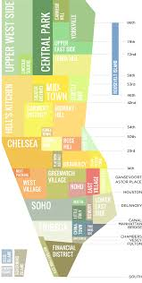 map of manhattan lower manhattan map go nyc tourism guide at of neighborhoods with
