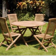 outdoor teak furniture table and 4 chairs 599 free delivery