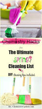 chemistry hacks for the ultimate spring cleaning list