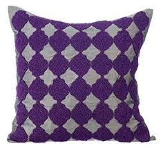 coussin de canapé gris coussin décoratif pour canapé déco motif géométrique