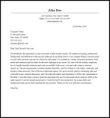good cover letter sample for security officer 78 for cover letter