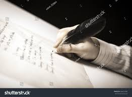 who writes white papers writer writes fountain pen on paper stock photo 384631006 writer writes a fountain pen on paper work close up