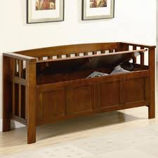 bench bench seat with storage wooden storage bench seat indoors