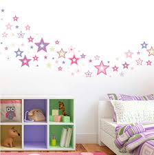 baby nursery decorative wall stickers as decorations pink purple