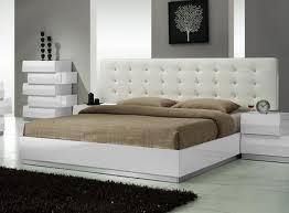 Best Beds By JM Furniture Images On Pinterest Platform Beds - White leather contemporary bedroom furniture