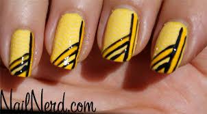 nail nerd nail art for nerds yellow