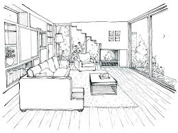draw room layout how to draw a living room point perspective drawing room one on