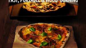 uuni a small fast u0026 affordable wood fired pizza oven by