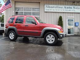 liberty jeep 2007 2007 jeep liberty shoreline auto sales