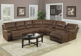 sofas decor ideas with dark brown cushioning and single leather