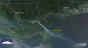 Google Map New Orleans by Marsh Fire Near New Orleans U2013 Skytruth