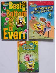 wts spongebob squarepants manga u0026 storybooks 7 books