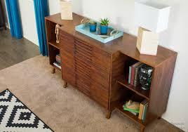 Dresser With Bookshelves by Pneumatic Addict How To Build A Modern Dresser Bookshelf Combo