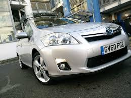 toyota auris hybrid auto silver electric in whitechapel london